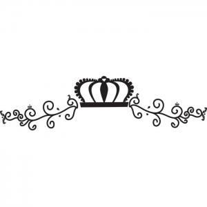 Adesivo de Parede Vossa Majestade