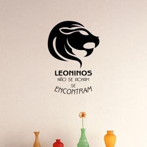 Adesivo de Parede Zodíaco Leonino