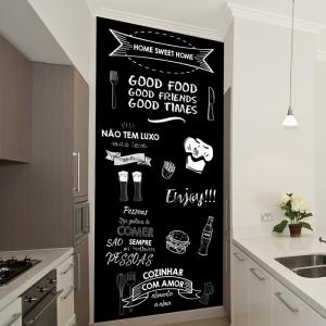 Adesivo Lousa Chalkboard  para Cozinha
