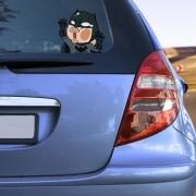 Adesivo para Carro Batman Pregado