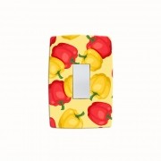 Adesivo para Interruptor Fresh Peppers
