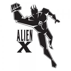 Adesivo para Porta Alien X Ben 10