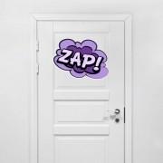 Adesivo para Porta Bala?o Zap