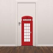 Adesivo para Porta Londres Telephone