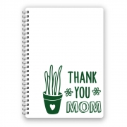 Adesivo Thank You Mom Cactus