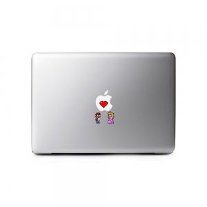 Adesivos para Notebook Mario e Princesa