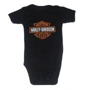 Body Bebê Motor Harley Davidson Rock Motoqueiro