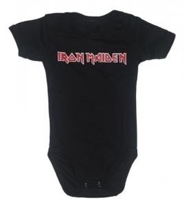 Body Bebês Banda Iron Maiden Rock Metal - Não Descasca