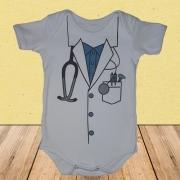- Body Bebês Divertidos Fantasia Médico Baby Menino