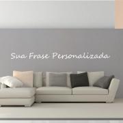 Adesivo De Parede Frase Personalizada 150cm