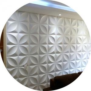 Kit 40 Placas Auto-colantes (10m²) Revestimento 3d Linha Fun