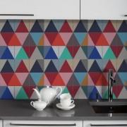 KIT Adesivos de  Azulejo Coloridos Triangulos