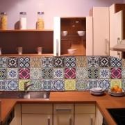 KIT Adesivos de Azulejos Abstrato