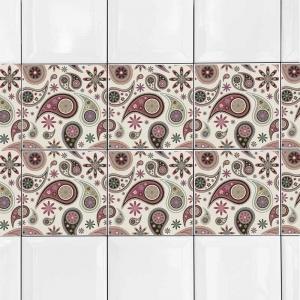 KIT Adesivos de Azulejos Arabesco
