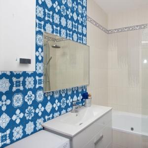 KIT Adesivos de Azulejos Azul Arábico