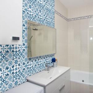 KIT Adesivos de Azulejos Azul Pattern