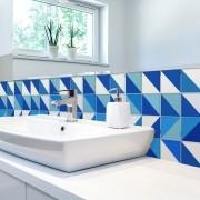 KIT Adesivos de Azulejos Calmaria Azul