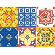 KIT Adesivos de Azulejos Carnavalesco