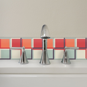 KIT Adesivos de Azulejos Color Bottons