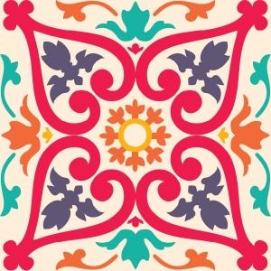 KIT Adesivos de Azulejos Colorful