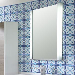 KIT Adesivos de Azulejos Flor Azul