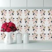 KIT Adesivos de Azulejos Floral Scent