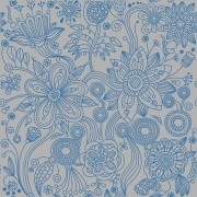KIT Adesivos de Azulejos Flores Ornamentais