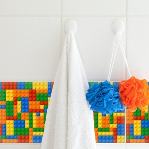 KIT Adesivos de Azulejos Lego
