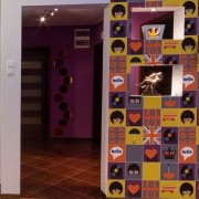 KIT Adesivos de Azulejos London Icons