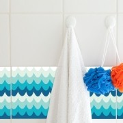 KIT Adesivos de Azulejos Ondas