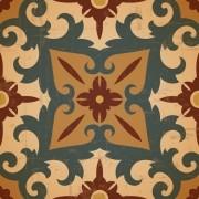 KIT Adesivos de Azulejos Ornamento Oriental