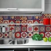 KIT Adesivos de Azulejos Red Mystic
