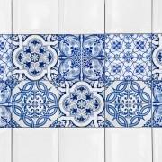 KIT Adesivos de Azulejos Vintage Blue