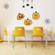 KIT Adesivos Decorativos Halloween Abóboras