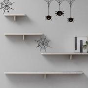 KIT Adesivos Decorativos Halloween Aranhas