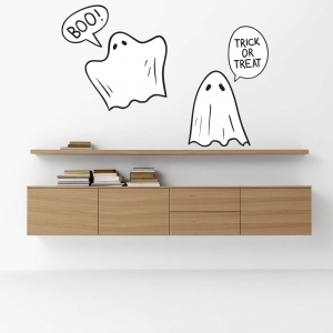 KIT Adesivos Decorativos Halloween Fantasmas