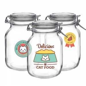 Kit de Adesivos Etiquetas Cat Food