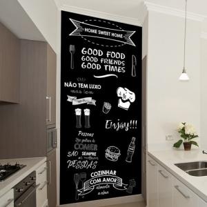 - Lindo Adesivo Lousa / Chalkboard Para Cozinha- Per