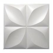 Placa 3D AutoAdesiva 50x50cm Pétala - Linha POP