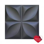 Placa 3D AutoAdesiva 50x50cm Pétala - Linha PREMIUM