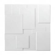 Placa 3D Revestimento 50x50 Plaza - Linha PREMIUM