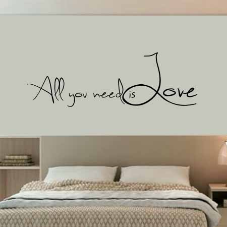Adesivo All you need is Love