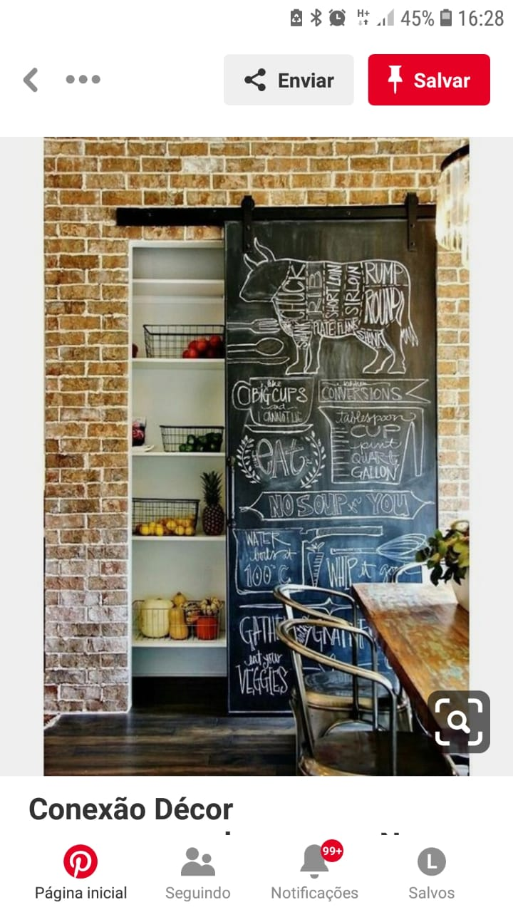 Adesivo Chalkboard personalizado