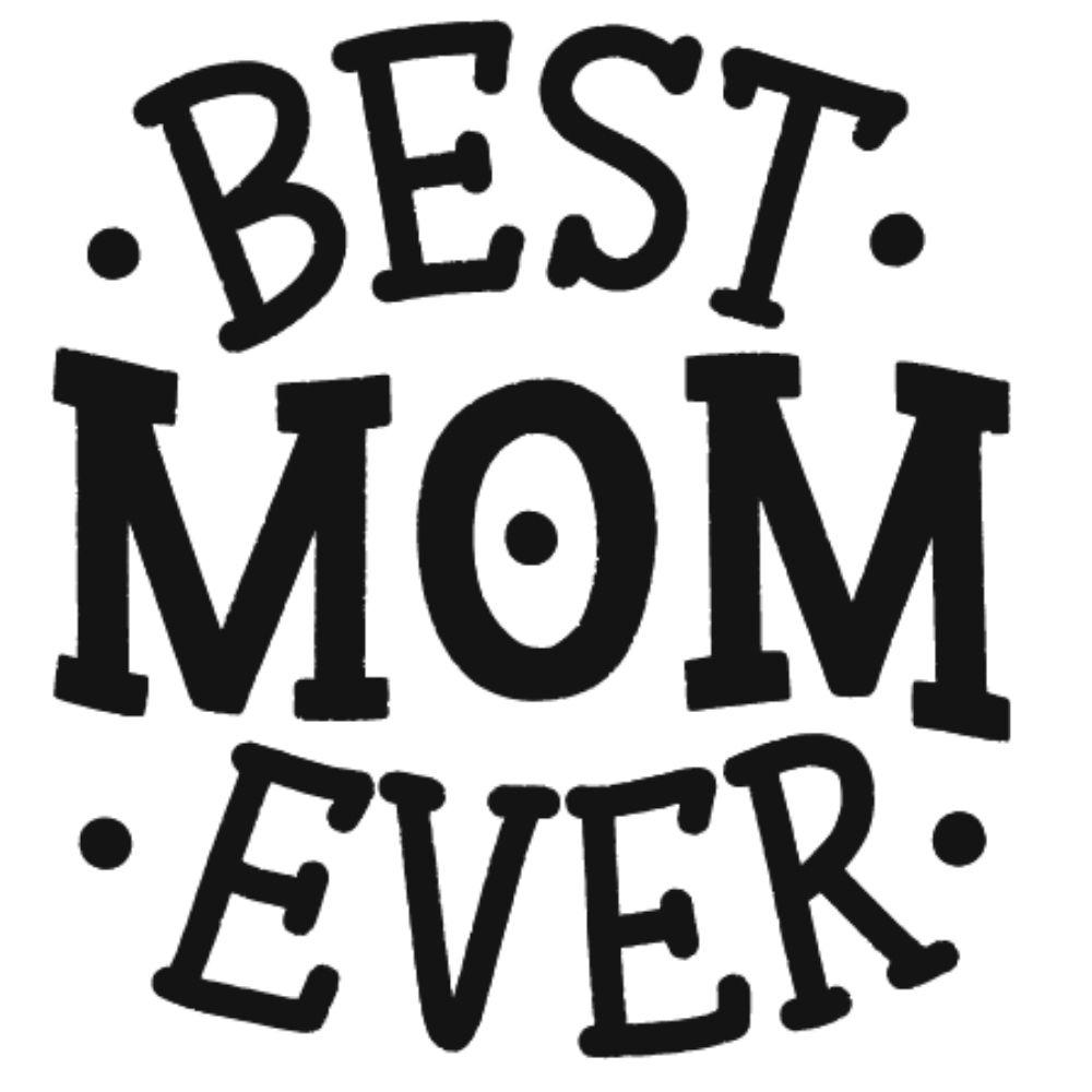Adesivo de Carro Best Mom Ever