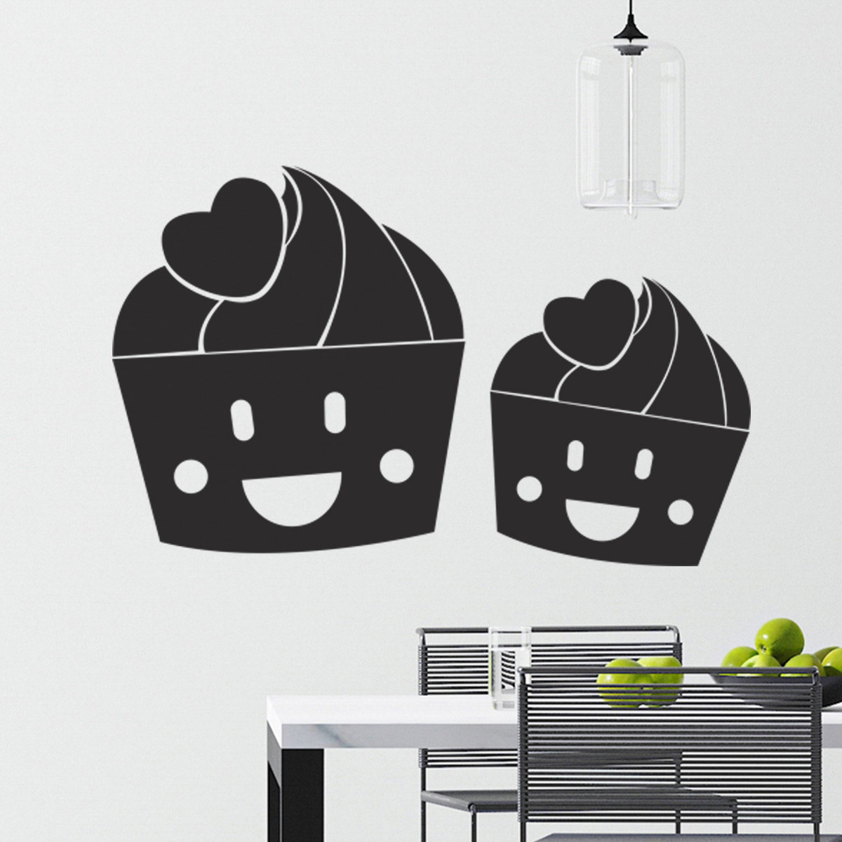 Adesivo de Cozinha CupCakes