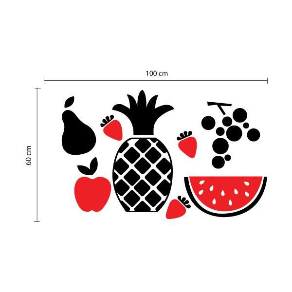 Adesivo de Cozinha Frutas