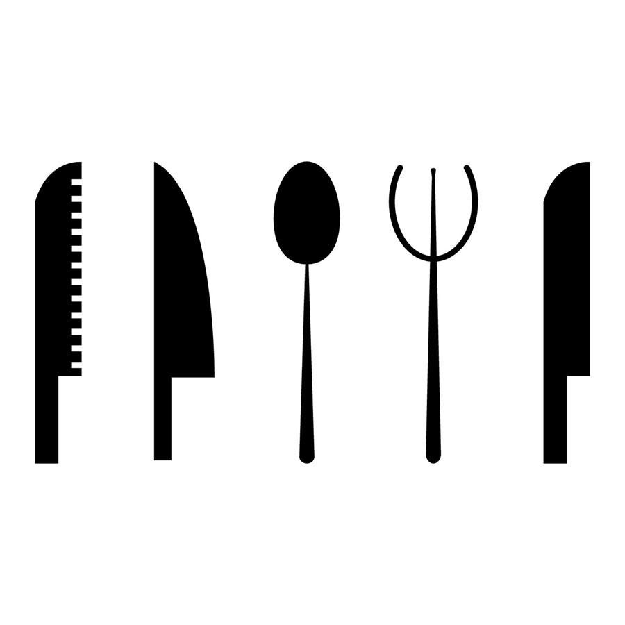 Adesivo de Cozinha Talheres II
