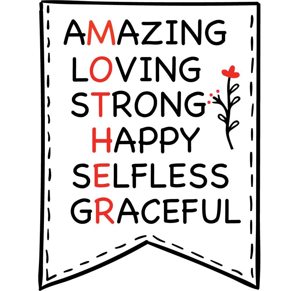 Adesivo de Geladeira Amazing ,Loving ,Strong , Happy ,Happy
