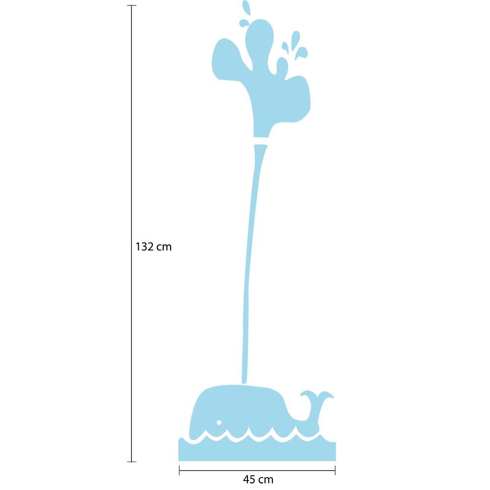 Adesivo de Geladeira Baleia