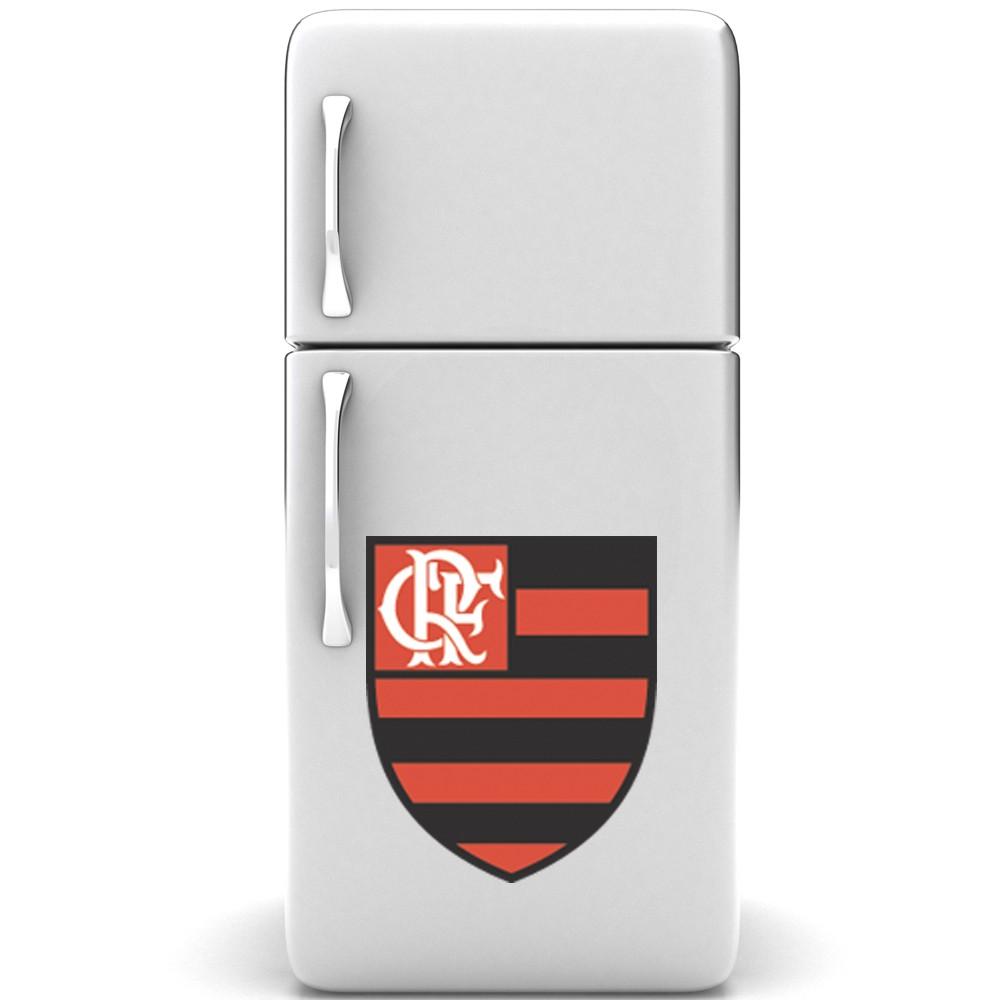 Adesivo de Geladeira Escudo Flamengo